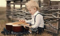 Chitarre per bambini: le cose da sapere