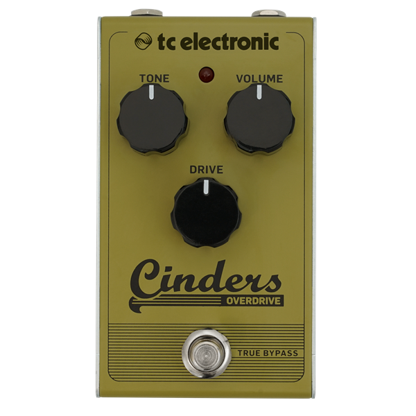 CINDERS OVERDRIVE PEDALE