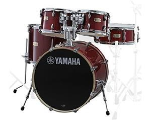 SB0F5CR STAGE CUSTOM BIRCH SHELL KIT CRANBERRY RED