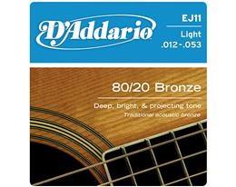 EJ11 LIGHT 80/20 BRONZE WOUND 012/053