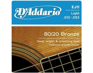 EJ11 LIGHT 80/20 BRONZE WOUND 012/053