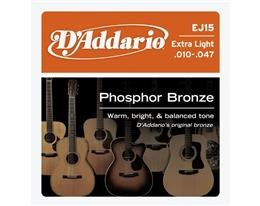 EJ15 EXTRA LIGHT PHOSPHOR BRONZE 010/047