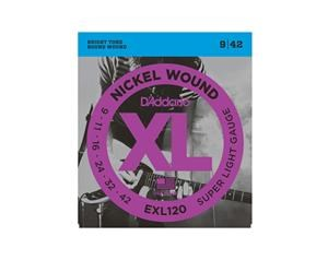 EXL120 SUPER LIGHT NICKEL RW SET DI CORDE