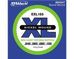 EXL165-4 LONG RED LIGHT XL NICKEL RW