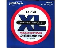 EXL170-4 LONG REGULAR LIGHT NICKEL RW