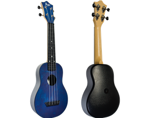 TUS35 ABS DARK BLUE TRAVEL UKULELE