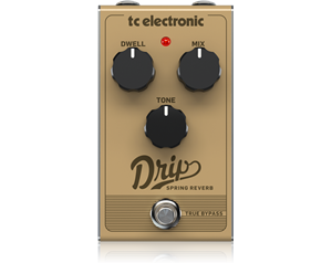 DRIP SPRING REVERB PEDALE