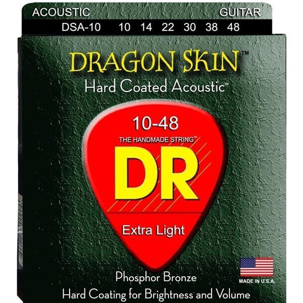 DSA10 10/48 DRAGON SKIN EXTRA LIGHT SET DI CORDE