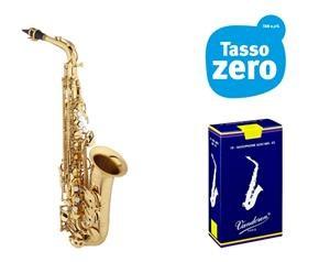 Sassofono Alto Eastman Eas640-gl Con Ance In Omaggio