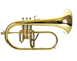 X19 FLICORNO SOPRANO RAW BRASS