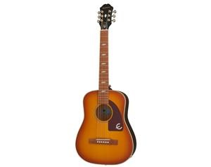 LIL TEX TRAVEL ACOUSTIC FADED CHERRY CHITARRA