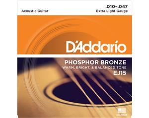 EJ15 EXTRA LIGHT PHOSPHOR BRONZE SET DI CORDE