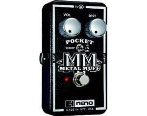 NANO POCKET METAL MUFF DISTORSORE