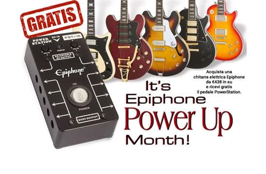 Acquista una chitarra elettrica Epiphone e ricevi il PowerStation in regalo