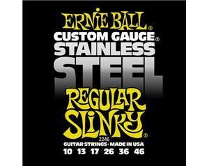 2246 STAINLESS STEEL REGULAR SLINKY 10/46 SET CORDE