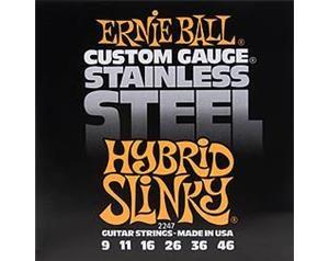 2247 STAINLESS STEEL HYBRID SLINKY 9/46