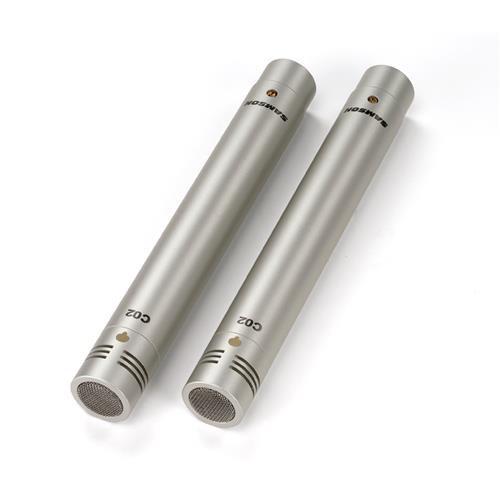 C02 - Coppia Microfoni A Condensatore - Supercardioidi - Pencil