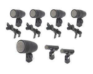 Dk707 - Set Di Microfoni Per Batteria - 7 Pezzi