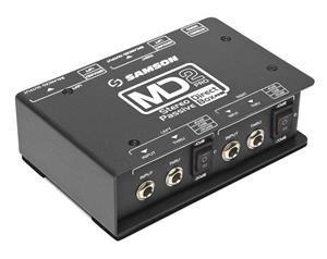 MD2PRO - D.I. BOX PRO STEREO - PASSIVA