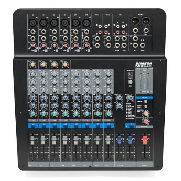 MXP 144FX - MIXER PASSIVO USB CON EFFETTI - 14 CANALI