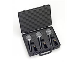 R21 ST3 - Microfoni Dinamici - Cardioidi - Set 3 pezzi