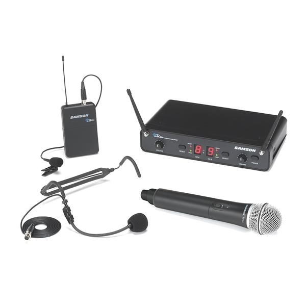 CONCERT 288 UHF DUAL HANDHELD SYSTEM - ALL IN ONE (HH+HS+LAVALIER) - H (470-514 MHZ)