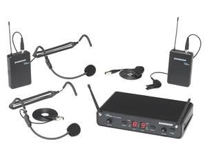 CONCERT 288 UHF DUAL HANDHELD SYSTEM - PRESENTATION + FITNESS (2 X HS + 2 X LAVALIER) - H (470-518 MHZ)