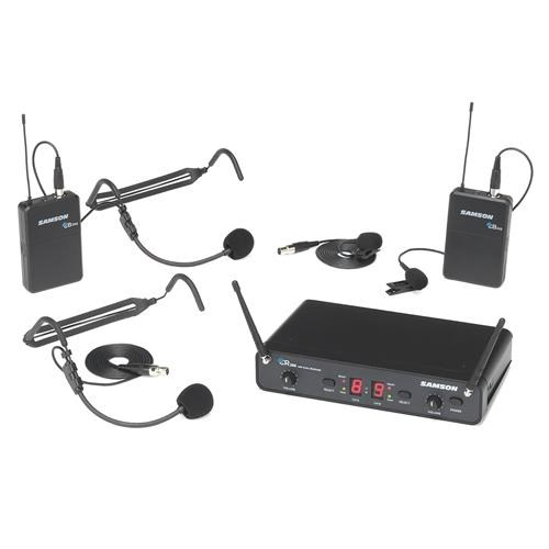 CONCERT 288 UHF DUAL HANDHELD SYSTEM - PRESENTATION + FITNESS (2 X HS + 2 X LAVALIER) - H (470-518 MHZ)
