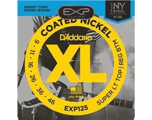 EXP125 COATED NICKEL SUPER LT TOP/REG BTM 09/46 SET CORDE