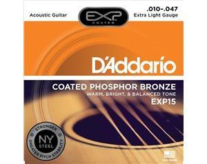 EXP15 COATED PHOSPHOR BRONZE EXTRA LIGHT 10/47 SET CORDE