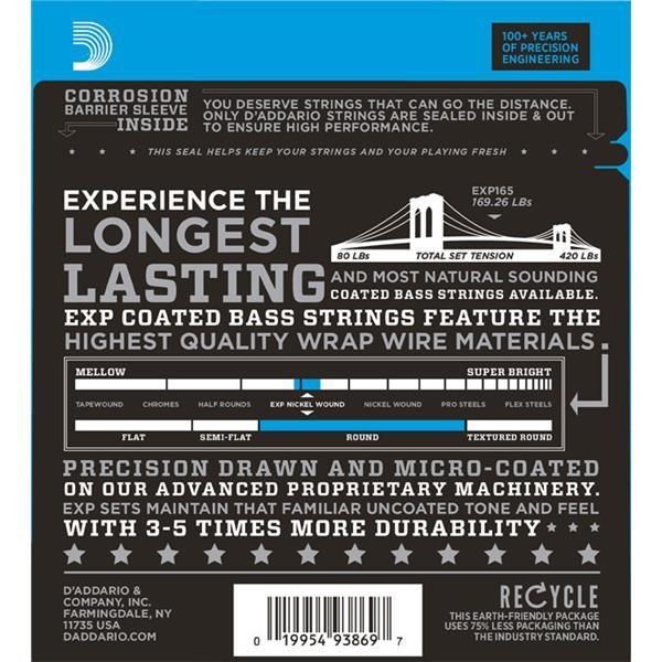EXP165 REGULAR LIGHT 45/105 LONG SCALE SET CORDE