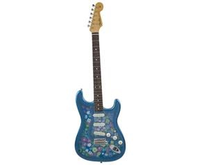 STRATOCASTER® TRADITIONAL 60S BLUE FLOWE