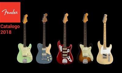 Le novità Fender nel catalogo Dampi 2018!
