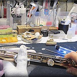 Riparazione flauti traverso