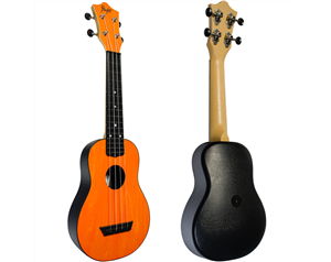 TUS35 ABS ORANGE TRAVEL UKULELE