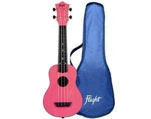 TUS35 ABS PINK TRAVEL UKULELE