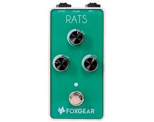 RATS VINTAGE DISTORTION PEDALE