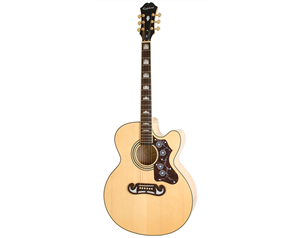 EJ-200SCE VINTAGE NATURAL SOLID TOP