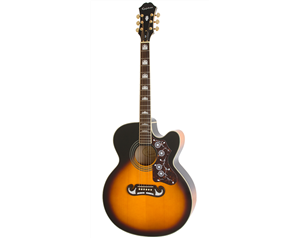 EJ-200SCE VINTAGE SUNBURST SOLID TOP