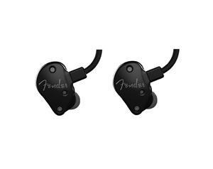 FXA6 PRO METALLIC BLACK IN EAR MONITORS AURICOLARI