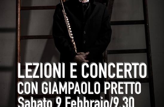Masterclass Di Flauto con Giampaolo Pretto