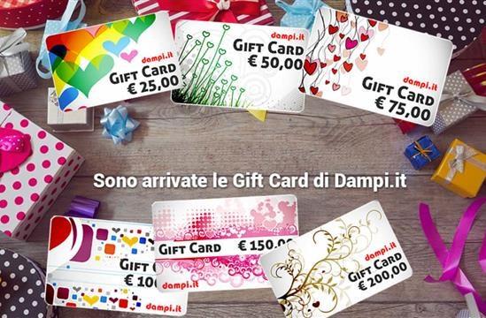 Gift card su dampi.it