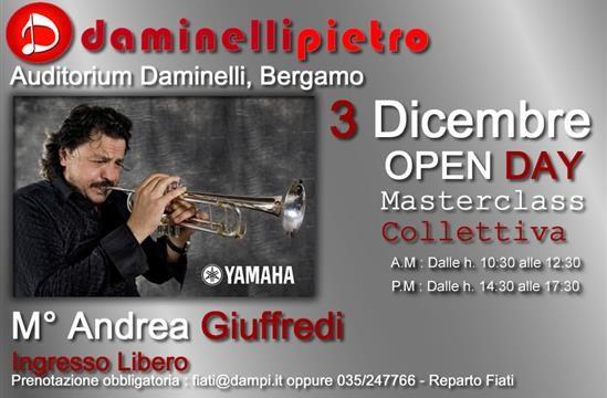Daminelli Pietro s.r.l.: Masterclass del M° Andrea Giuffredi