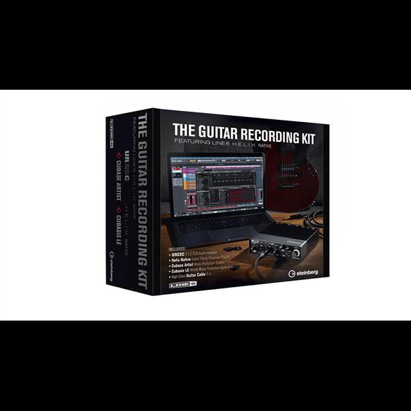 THE GUITAR RECORDING KIT SCHEDA AUDIO