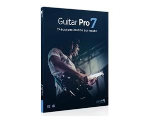 GUITAR PRO 7 SOFTWARE