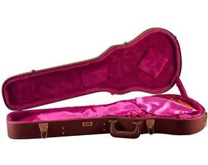 GW-LP-BROWN - astuccio per chitarra elettrica tipo Gibson Les Paul