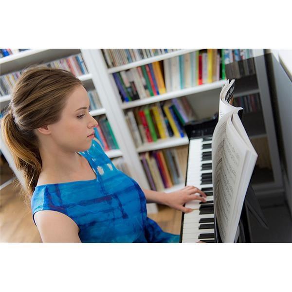 NU1X AVANTGRAND HYBRID BLACK POLISHED PIANO DIGITALE