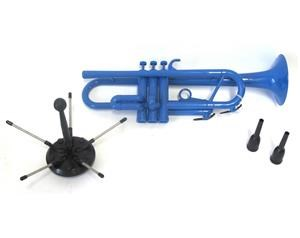 Tromba In Sib Plastica Blu