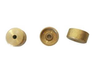 G017170 SET 3 PIATTELLI TROMBA RAW BRASS