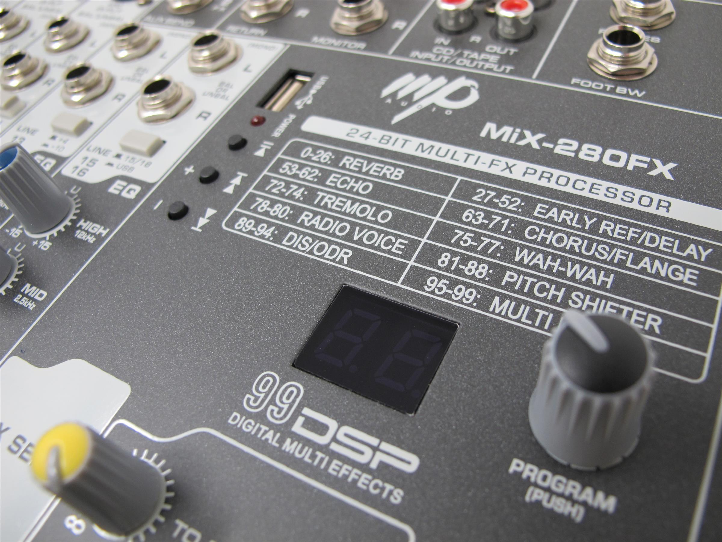 mp audio mixfx mixer dampiit